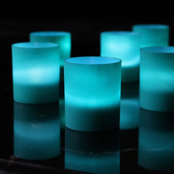 teal battery holder lights