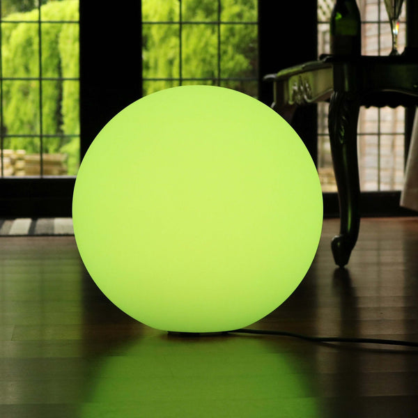 50cm LED Orb Light Mains Powered Lamp - Colour Changing