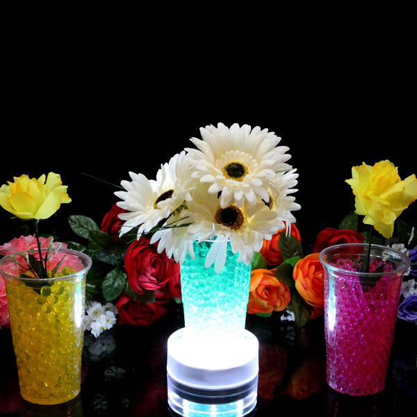 Bright white led vase base