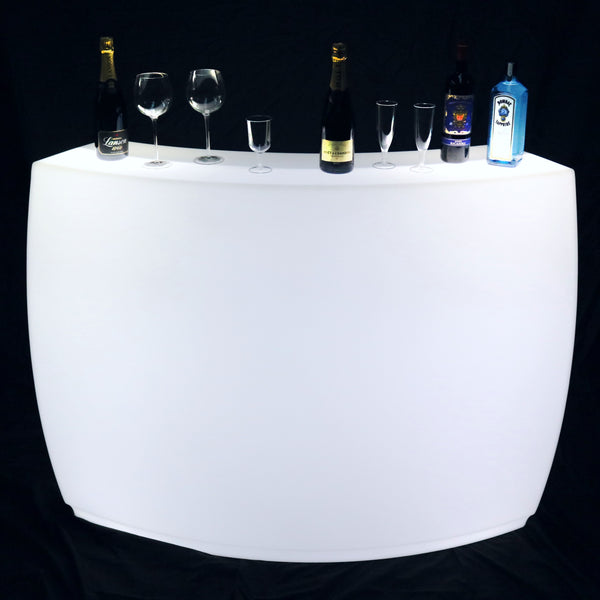 Light Up Drinks Bar, Mobile LED Furniture Party Decoration