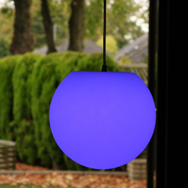led orb lamp