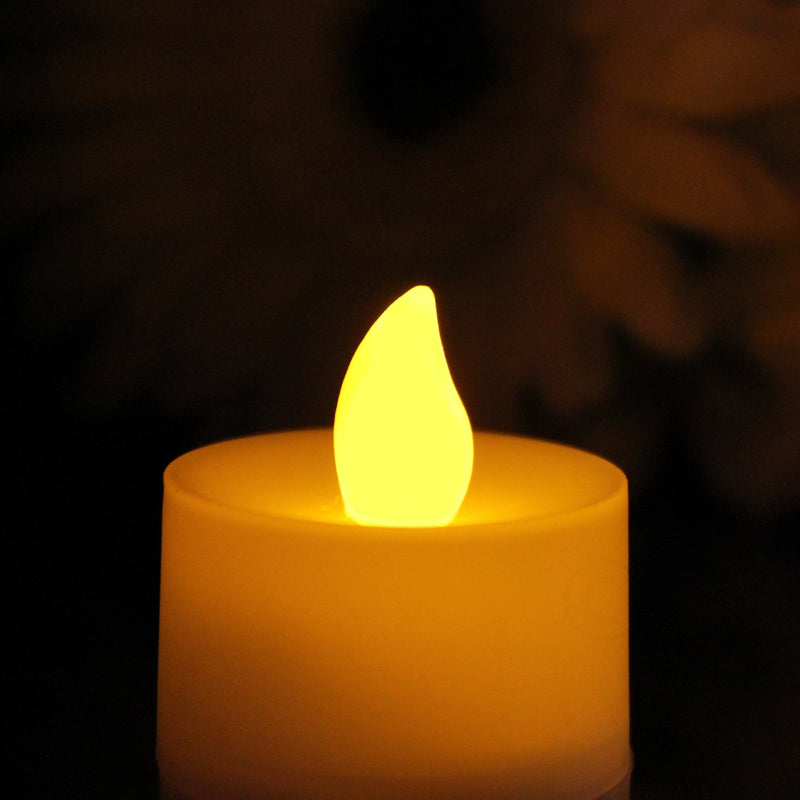 Amber Flameless Candle
