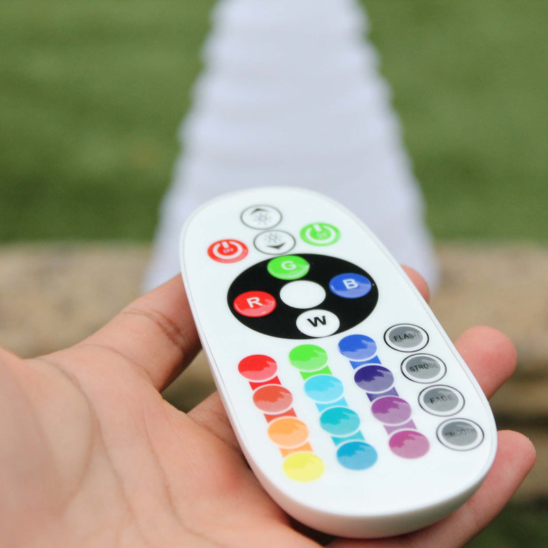 colour changing mood light remote