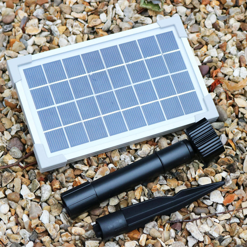 Solar Underwater Pond Lights with Battery Backup