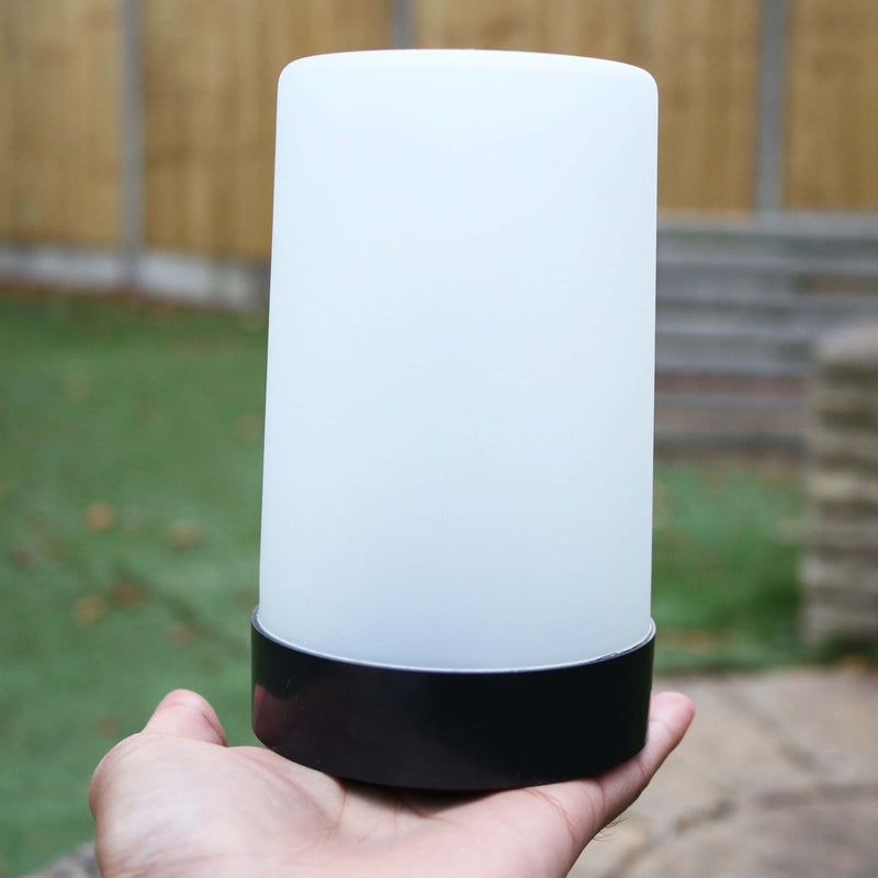 plastic flameless led lantern