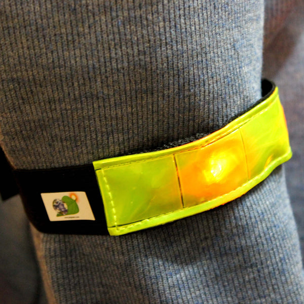 High Visibility LED Safety Bands