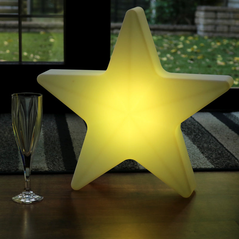 Rechargeable Floor Lamp, 60cm LED Star RGB Sensory Light for Children