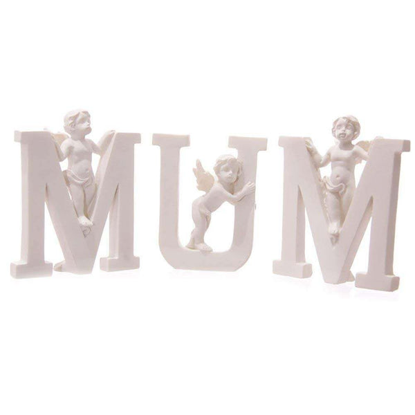 MUM Cherub Letter Home Decor Mother's Day Gift