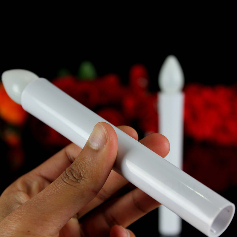 church candles with led flame