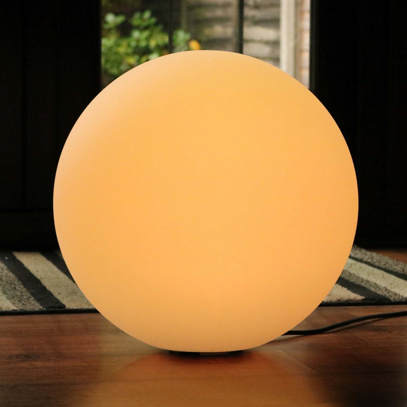 60cm Ball Lamp RBG Sphere Mains Powered - Colour Changing