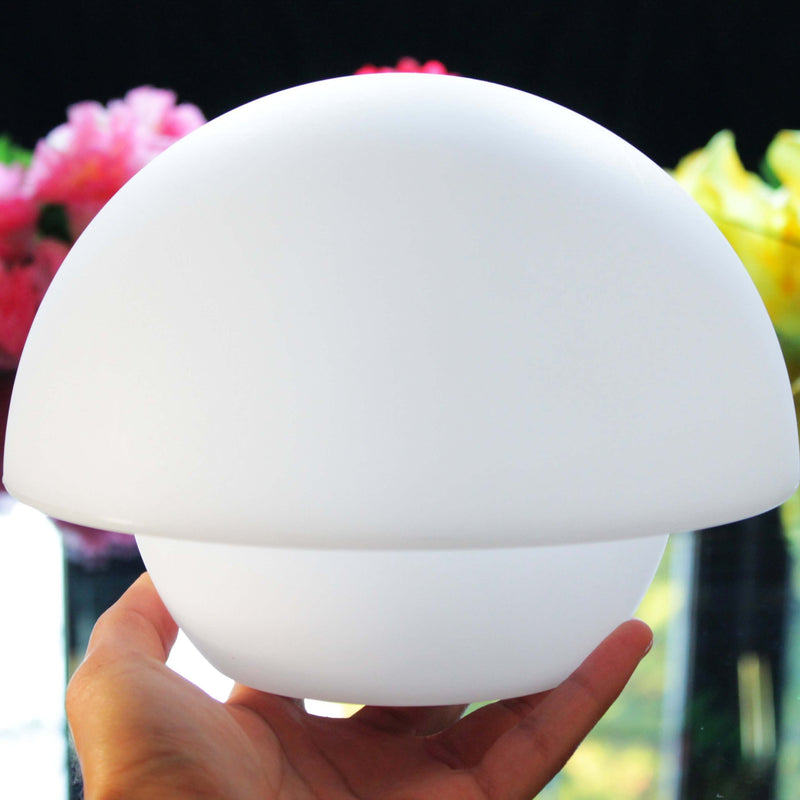 Rechargeable mushroom LED lamp