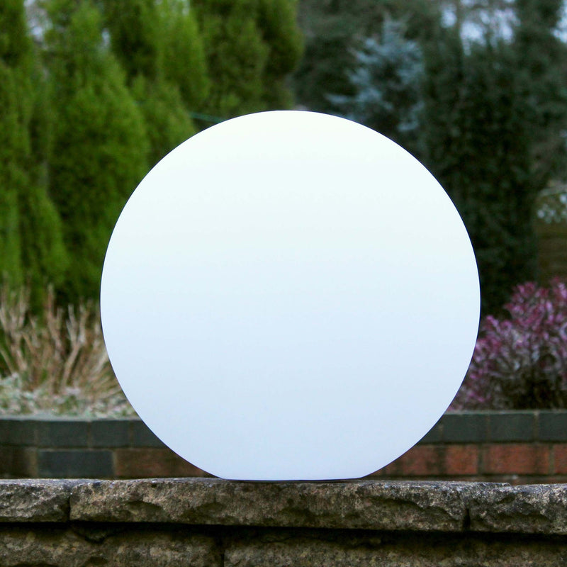 50cm Large Outdoor Sphere Garden Light, Floating RGB Mood Ball Light
