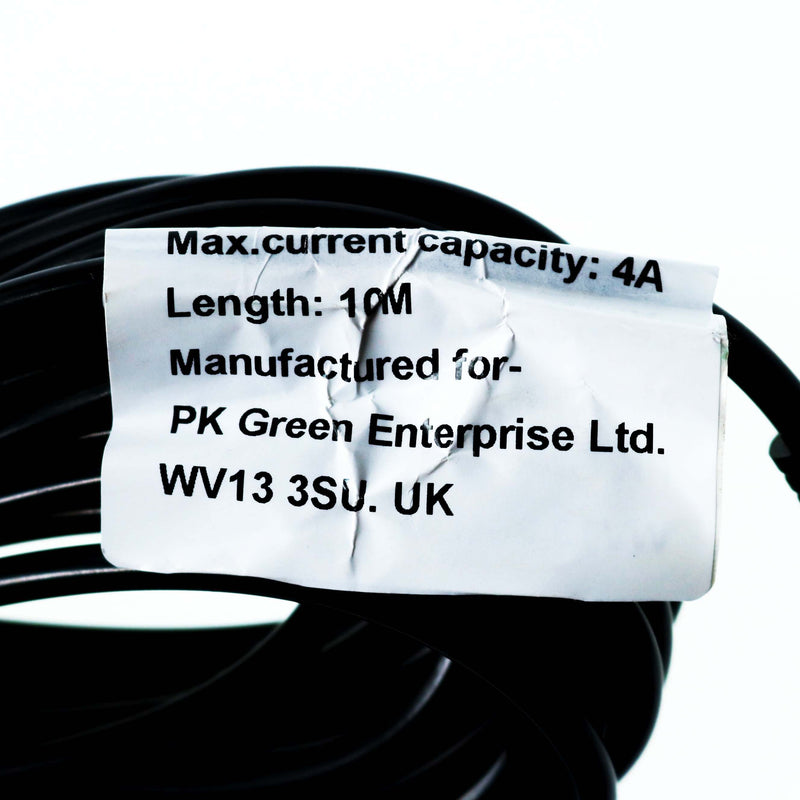 10m DC Power CCTV Camera Extension Cable 2.1 4A 12V