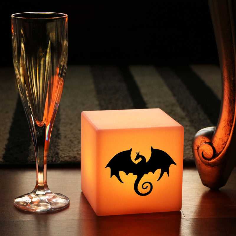 Original Light, LED Dimmable Rechargeable Bedside Lamp for Party, Cube , Dragon Gift Lamp