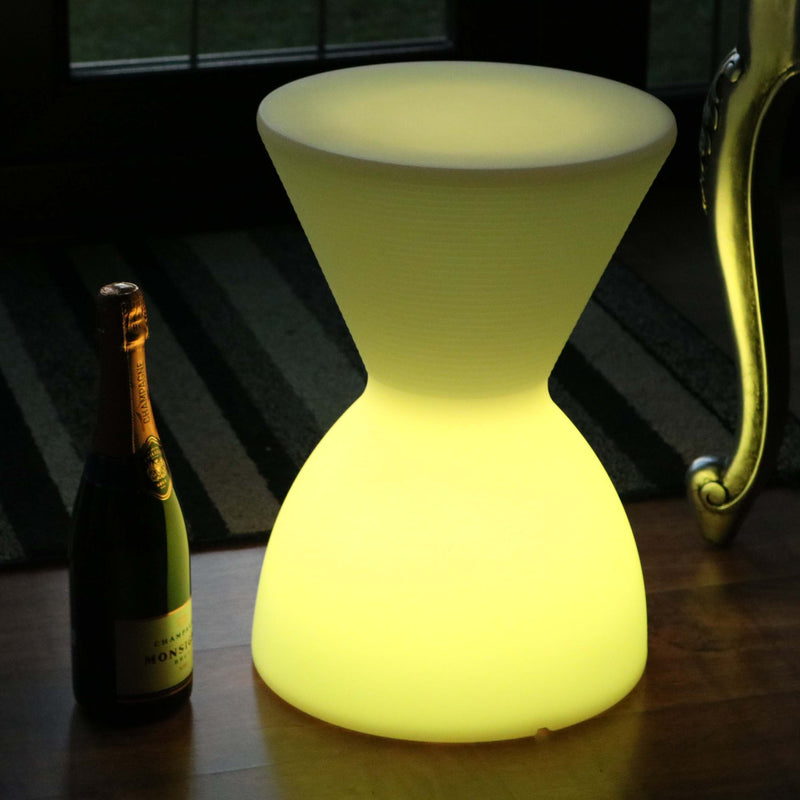Light Up Led Stool Cordless Rgb Floor Lamp With Remote