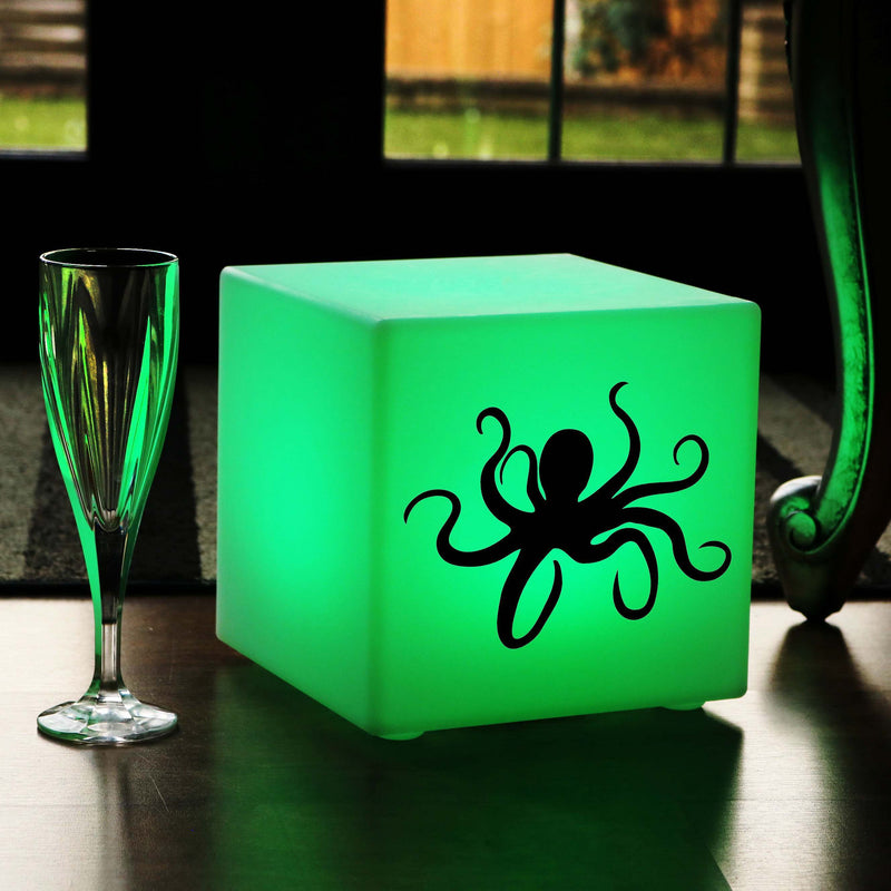 Original Lightbox, LED Multi-Colour Wireless Table Lamp Centrepiece for Event, Cube , Octopus Lamp