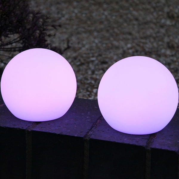 set of 2 led mood lights