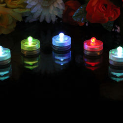 set of 5 colour changing submersible lights