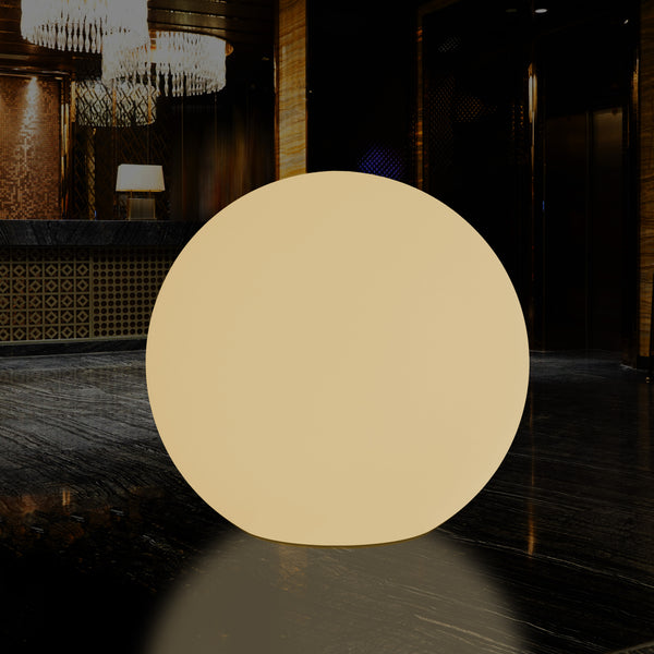 1250 mm Orb Globe Light, Extra Large LED E27 Floor Lamp, Warm White, 125 cm Diameter
