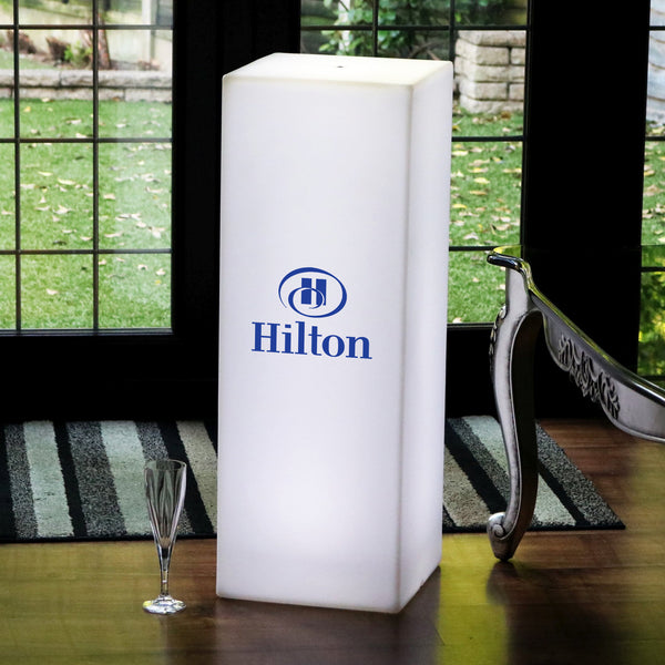 Personalised LED Free Standing Light Box, Branded Promotional Illuminated Display Sign