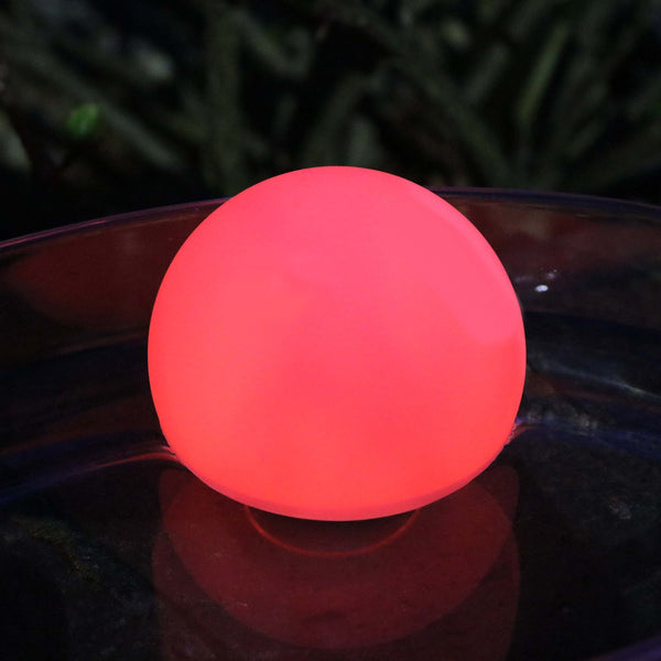 led colour changing floating ball