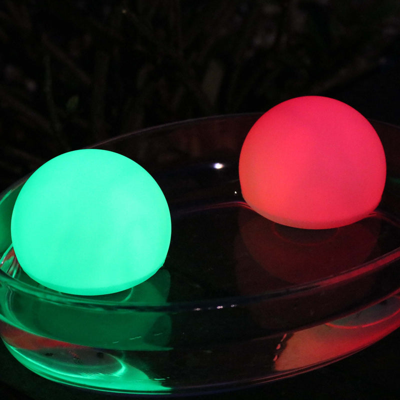 colour changing light up water balls