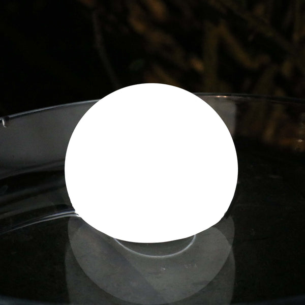 white led floating ball light