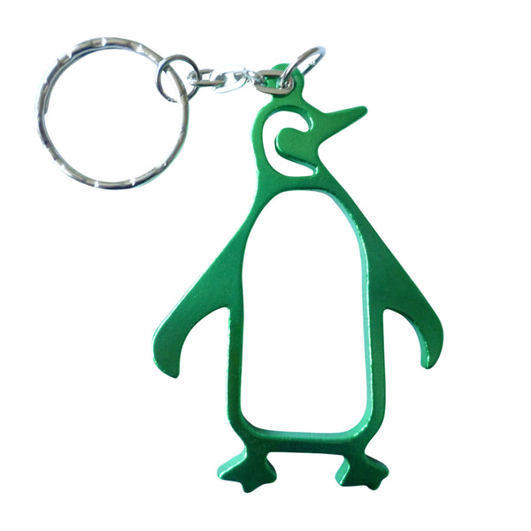 green penguin keyring