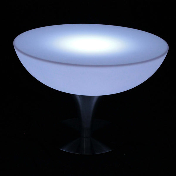 Colour changing LED low cocktail table