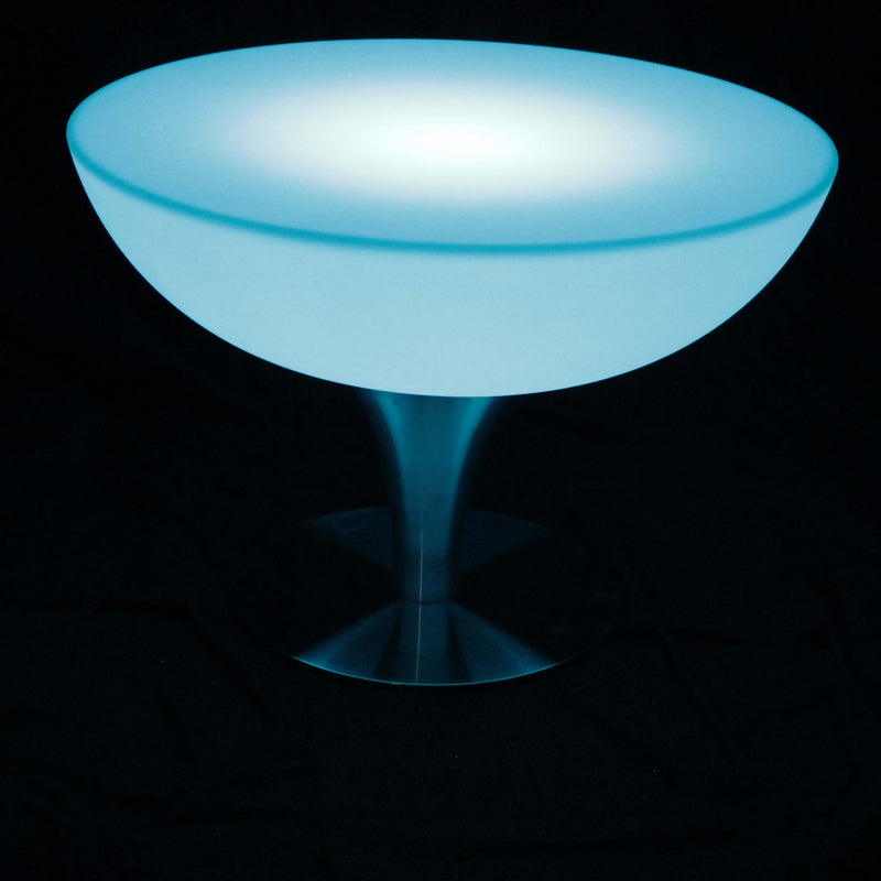 Bright light up round table