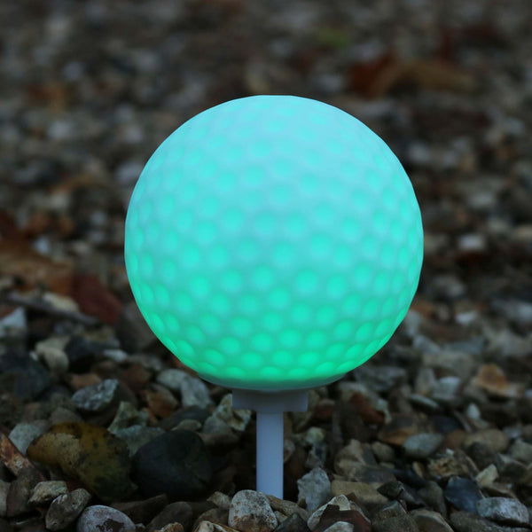 colour changing led golf ball