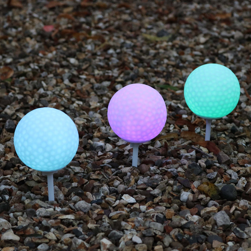 pathway led golf ball lights