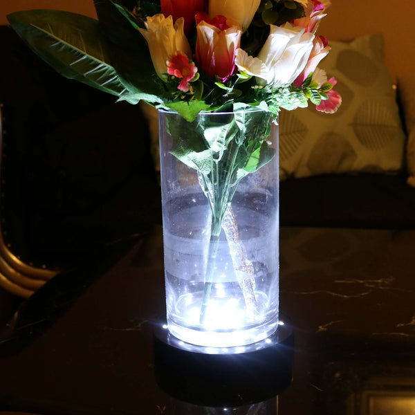 black led vase base