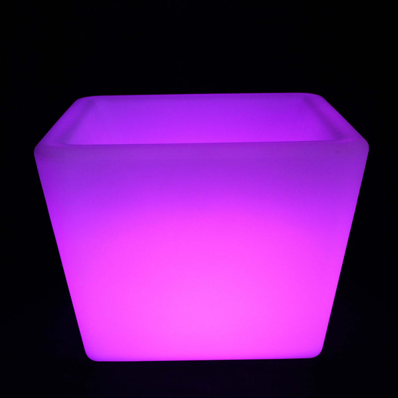 Gradual colour changing LED champagne ice bucket