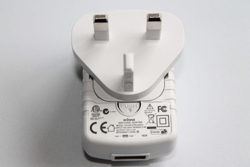 White Mains Charging Adaptor for Floating LED Mood Lamps