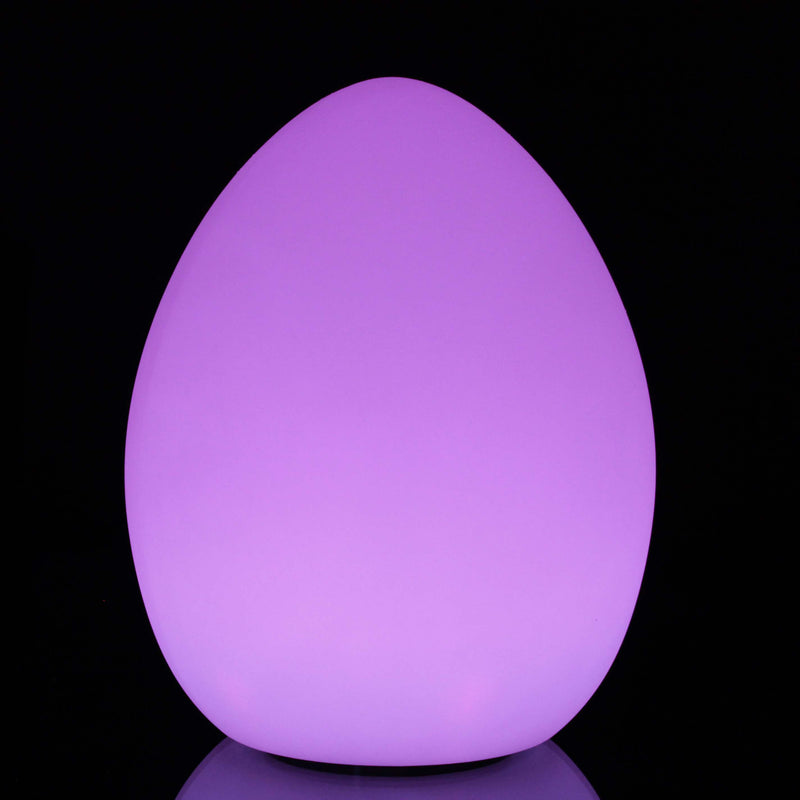 LED mood egg with waterproof exterior