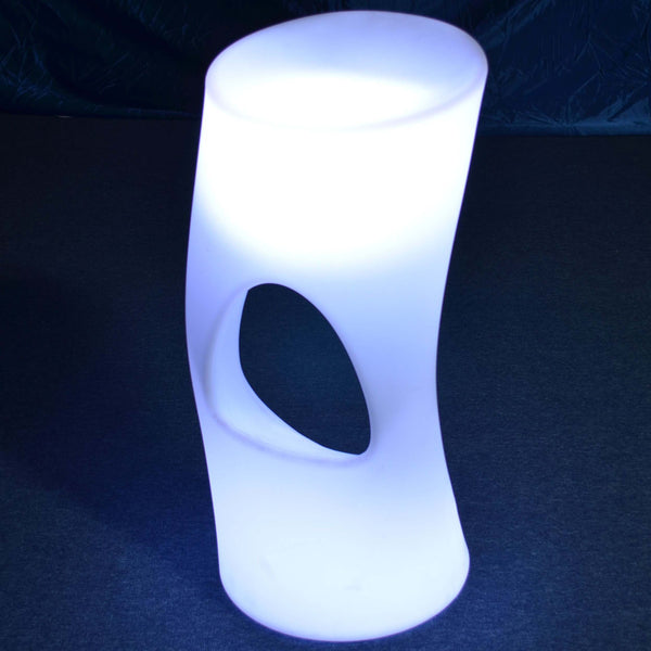 Colour changing LED stool