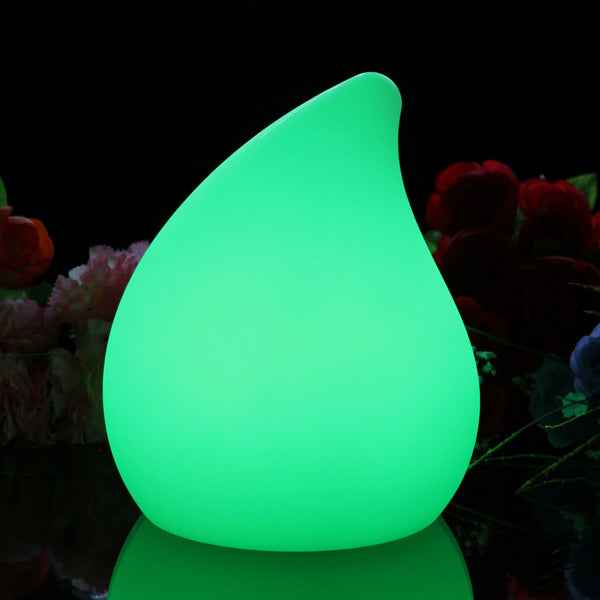 green light comma shaped led night lights
