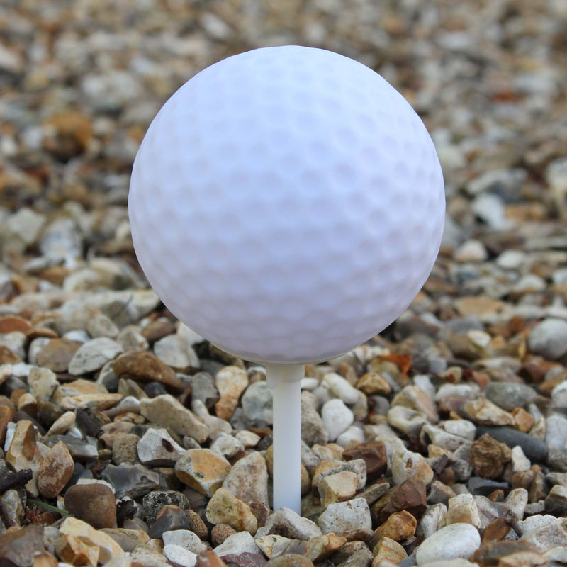 staked garden golf ball lamp