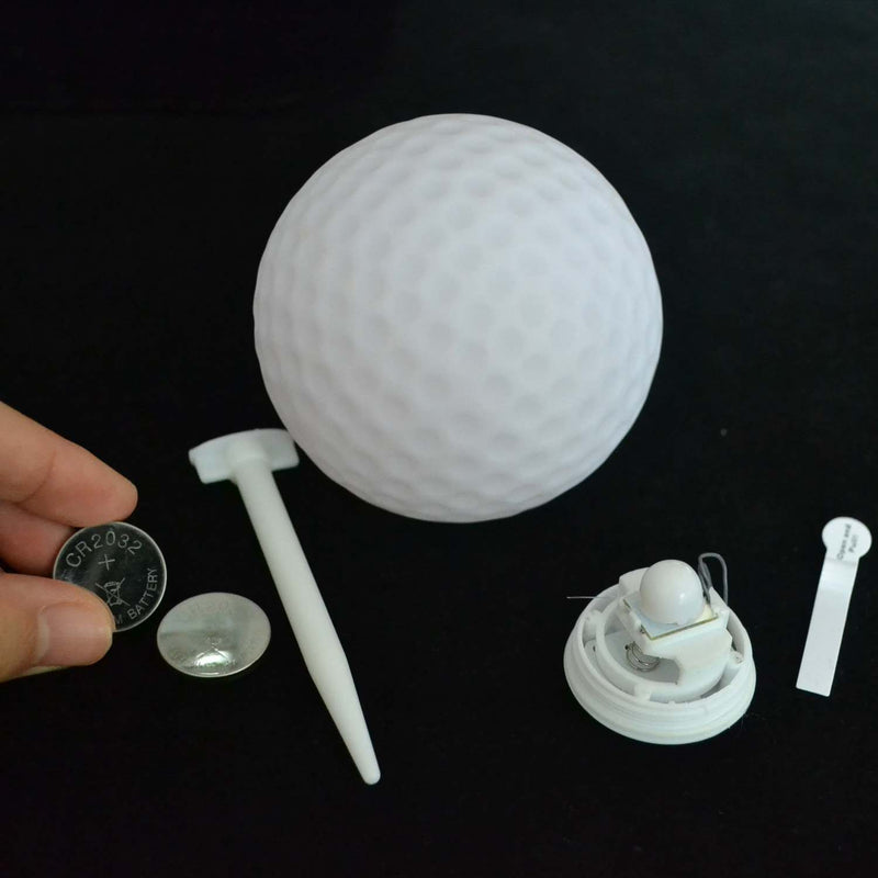parts of led golf ball