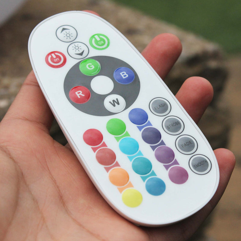 Remote for garden mood lights
