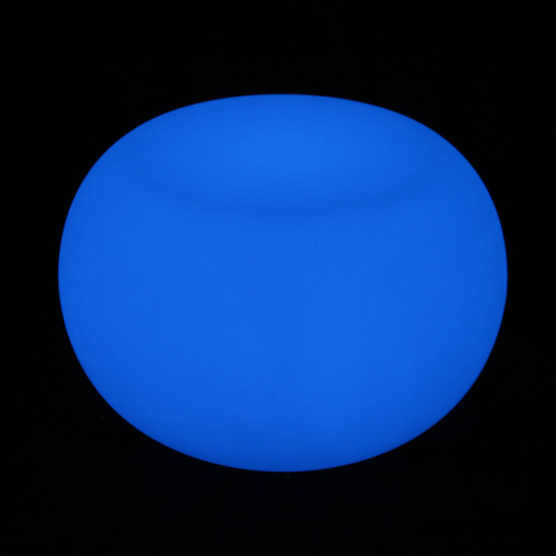 Blue LED coffee table colour changing