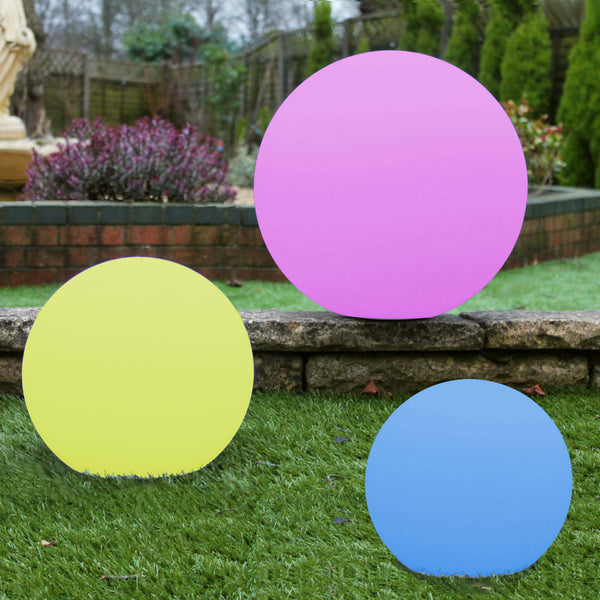 set of 3 mood ball lights