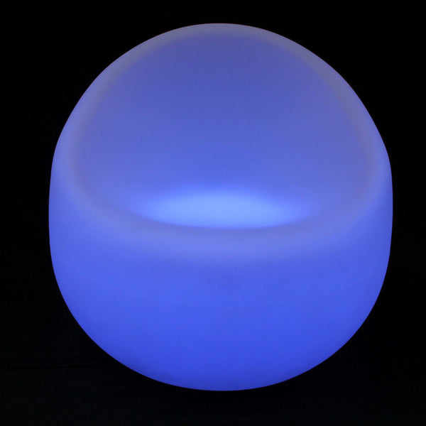 Gradual colour changing LED chair