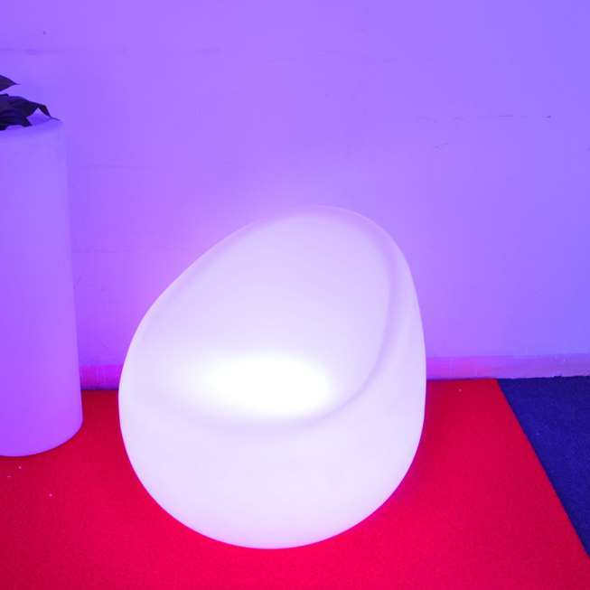Bright LED sofa chair