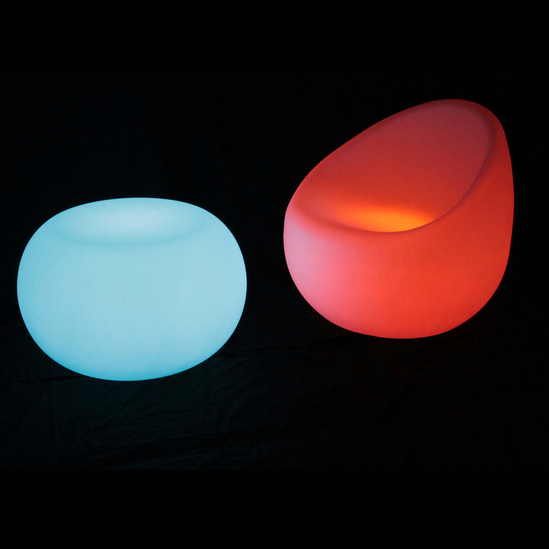 Gradual colour changing  LED sofa