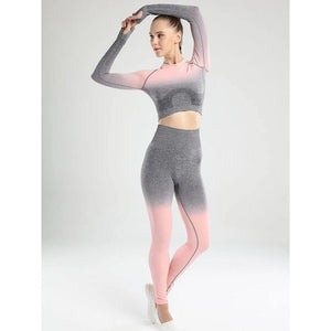 Ombre Seamless Leggings - UltimateFitGears