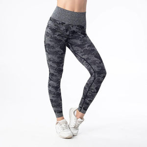 Camo Seamless Leggings - UltimateFitGears
