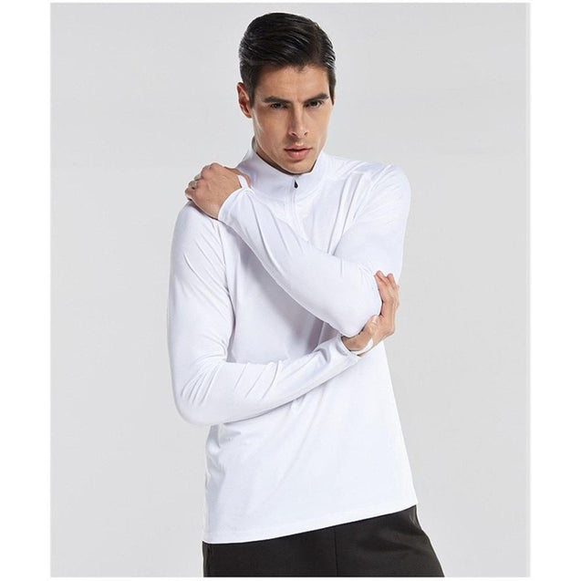 Men's Long Sleeve Running Top - UltimateFitGears