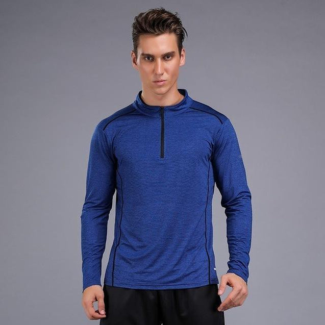 Running Long Shirts Men Quick Dry - UltimateFitGears